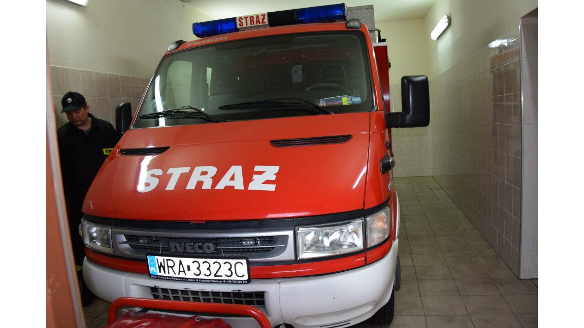 Maseczki dla mieszkańców zostaną  dostarczone przez druhów Ochotniczych Straży Pożarnych do sołtysów,
